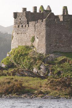 Castlt Tioram, Seat of the Clan MacDonald of Clan Ranald - Loch Moidart, Scotland