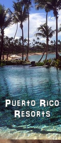 Puerto Rico Luxury Resort Review  Great Honeymoon, Beach, Couples, Family and All Inclusive Puerto Rico  vacation options.  #Puerto Rico   http://www.luxury-resort-bliss.com/puerto-rico-luxury-resort.html