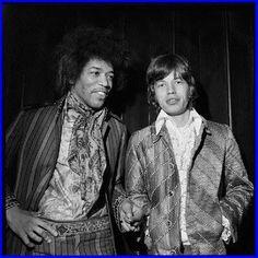 Jimi & Mick