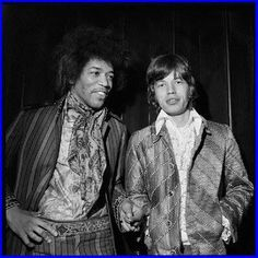 """Jimi Hendrix telling Mick Jagger that he now has his """"own band"""" and does not need a gig"""