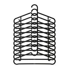 IKEA - SPRUTTIG, Hanger, Pants hanger, skirt hanger and shirt hanger in one.