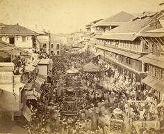 Street festival, india 1880