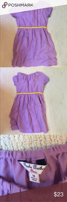 Brooks Brothers Fleece girls 14 purple linen dress I don't think this was ever worn, but it is adorable! Listing excellent clothing, adults through kiddos, soon! Nonsmoking home, not returns. I try to list things at prices I'd be psyched to snatch up at a nice second hand shop. Brooks Brothers Dresses Casual