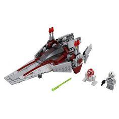 lego star wars, piezas montadas - Starfighter...