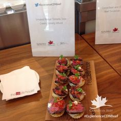 #ExperienceCDNbeef Chef House, August 20, Toronto, Beef, Food, Meal, Essen, Hoods, Ox