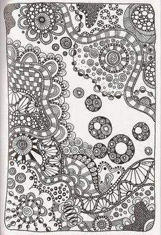 Tangle 85 by kraai65, via Flickr @Aimee Lemondée Gillespie Lemondée Gillespie Lemondée Gillespie Pearn @Marlies Babson pretty
