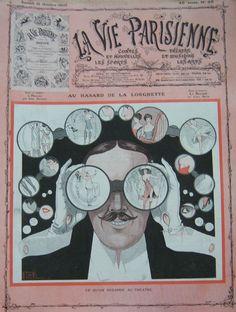 Georges Léonnec (1881 – 1940). La Vie Parisienne, 15 Octobre 1910. [Pinned 14-vii-2015]