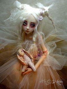 BJD ball jointed doll Summer's Garden Bunny B by ~cdlitestudio on deviantART
