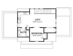 House Plan - G) Design from Allison Ramsey Architects Architects, House Plans, Garage, Floor Plans, Exterior, How To Plan, House Styles, Design, Carport Garage