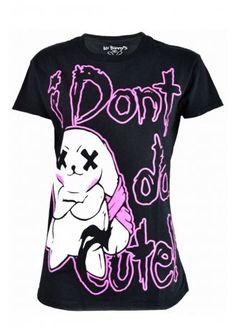 Luv Bunnys LB Not Cute T-Shirt