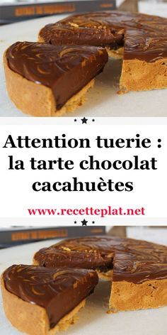 French Sweets, Cooking Time, Cooking Recipes, Chocolate Peanuts, Cheesecake Recipes, Easy Desserts, Deserts, Food Porn, Food And Drink