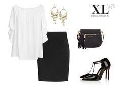 Wiele kobiet poszukuje ciekawych i eleganckich stylizacji do pracy. W sklepie XL-ka polecamy białą spódnicę z rękawami w falbanki oraz prostą ołówkowa spódnicę xxl w kolorze czarnym.