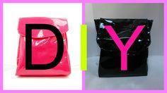 Diy American Apparel Vinyl Backpack | Fake it to make it #12