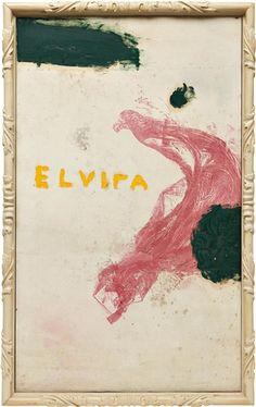 Julian Schnabel, Untitled (Elvira)