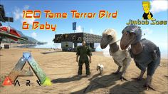 ARK: Survival Evolved 120 Terror Bird tame & Baby