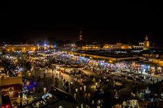 Marrakech. Djemma el Fna.