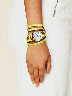 Neon Watch Bracelet