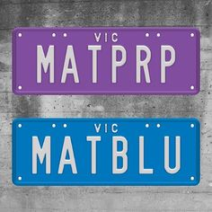 Everything looks better in MATTE // Custom Plates are now available in Matte Purple, Blue, Black, Grey and Pink! Check them out at vplates.com.au #matte #matteblack #matteblue #mattepurple #customplates #vicplates #vplates Custom Plates, Matte Black, Purple, Pink, Grey, Instagram Posts, Check, Inspiration, Gray
