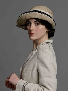 Lady Mary is a fickle lass but you can't help but love her.  (Downton Abbey)