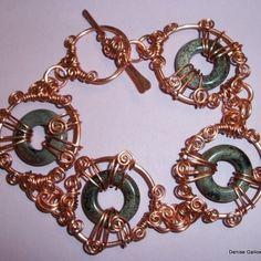 Swirled Bracelet Jewelry Tutorial PDF