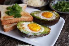 Yliherkulliset kananmuna-avokadot | Sillä sipuli | Bloglovin'