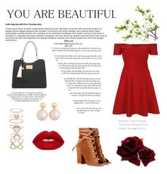 """""""Untitled #12"""" by udggv24 on Polyvore featuring Gianvito Rossi, River Island, Accessorize and Lime Crime"""