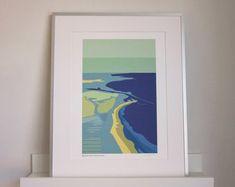 Travel-inspired art, made to match your home by SouthIslandArt Framed Fabric, Framed Prints, Etsy Seller, Inspired, Creative, Artist, Handmade, Painting, Travel