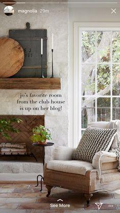 Repost from magnolia Country Farmhouse Decor, Farmhouse Style Decorating, Farmhouse Furniture, Vintage Furniture, Furniture Decor, Interior Decorating, Interior Design, Cottage Decorating, Modern Country
