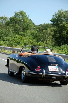 Imagine taking off in this classy car for the open road, adventures awaiting.....