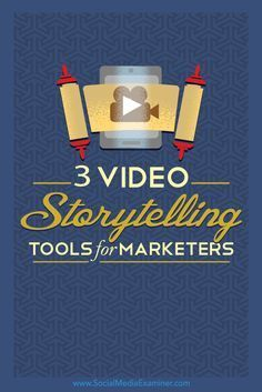 Do you want to create social media videos for your business? The right apps make it easy to produce social videos by yourself in minutes. In this article, you'll discover three tools and step-by-step tutorials to help you create stunning promotional videos. Via /smexaminer/.