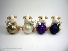 Little Sparkly Bauble Guinea Pig (£25)