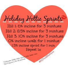 Holiday Hottie Sprints