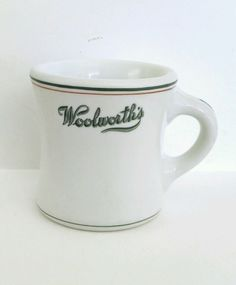 Woolworth's Restaurant Ware Coffee Mug (Shenango China, 1932)
