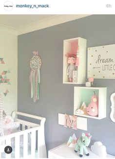 Dream catcher Baby Wall Decor, Extra Rooms, Kids Sleep, Big Girl Rooms, Baby Bedroom, Spare Room, Kids Decor, Girl Nursery, Kids Furniture
