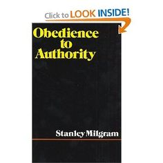 obedience to authority the stanford prison A participant is prepped in the 1971 stanford prison experiment credit sundance channel  he devised a study in which subjects delivered what they thought were painful electric jolts to a fellow participant, merely because they were encouraged to do so by the scientist in charge who assured them it was necessary for a learning.