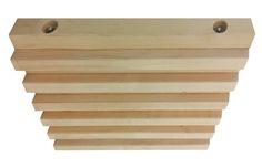 TAVEGO STACK-B  Prestressed Laminated Timber (PLT)   Pannello per solai prefabbricati realizzato utilizzando travetti KVH o tavole C24, connesse con barre in acciaio filettate.