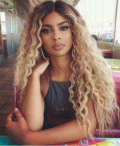 7A Remy Brazilian Human Hair Wigs Curly Ombre Blonde Lace Front Full Lace Wigs | Health & Beauty, Hair Care & Styling, Hair Extensions & Wigs | eBay!