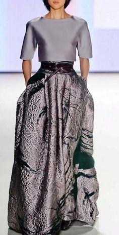 Carolina Herrera. The skirt in particular. Wow