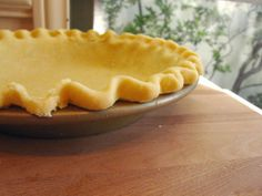 Keep the size of the pie by freezing it first