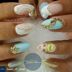 #PrettyNailDesign BY #HOMEOFDEVA #prettynails #cutenailart #cutenails #beautifulnails #acrylicnailart #acrylicnails #nails #nailart #nailartist #naildesigns