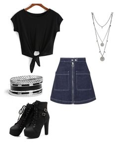 """""""Untitled #1302"""" by livy77 on Polyvore featuring Topshop, GUESS and Vince Camuto"""