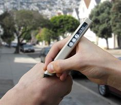 Phree Pen The Phree Pen lets you write on any surface and stores your notes, drawings, and genius ideas directly to your phone through the Phree app. It also lets you write, send & receive messages in your own hand. Mens Gadgets, High Tech Gadgets, Electronics Gadgets, Cool Gadgets, Amazing Gadgets, Cool Technology, Technology Gadgets, Artificial Intelligence Technology, Must Have Gadgets