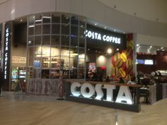 Costa Coffee Costa Coffee, Digital Cinema, Food Service, France, Home Decor, Homemade Home Decor, Early French, Decoration Home, Interior Decorating