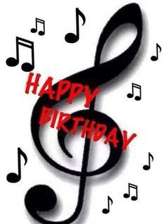 Bd Happy Birthday Joyeux Anniversaire Note De Musique