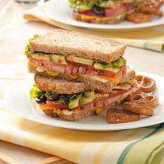 Hearty Veggie Sandwiches Recipe