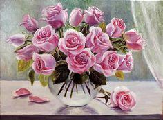 Olga Vorobyov.  Roses