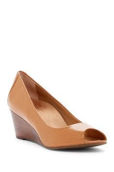 Bria Wedge Pump - Wide Width Available