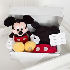 Minnie mouse personalised baby costume gift set disney layette mickey mouse personalised baby costume gift set negle Image collections
