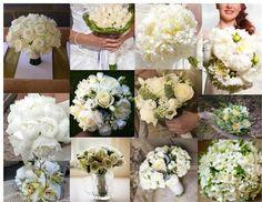 Ivory Bridal Bouquet Ideas
