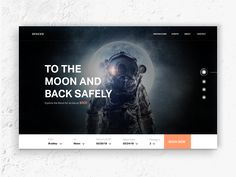 SPACED Homepage by Derek Yepes